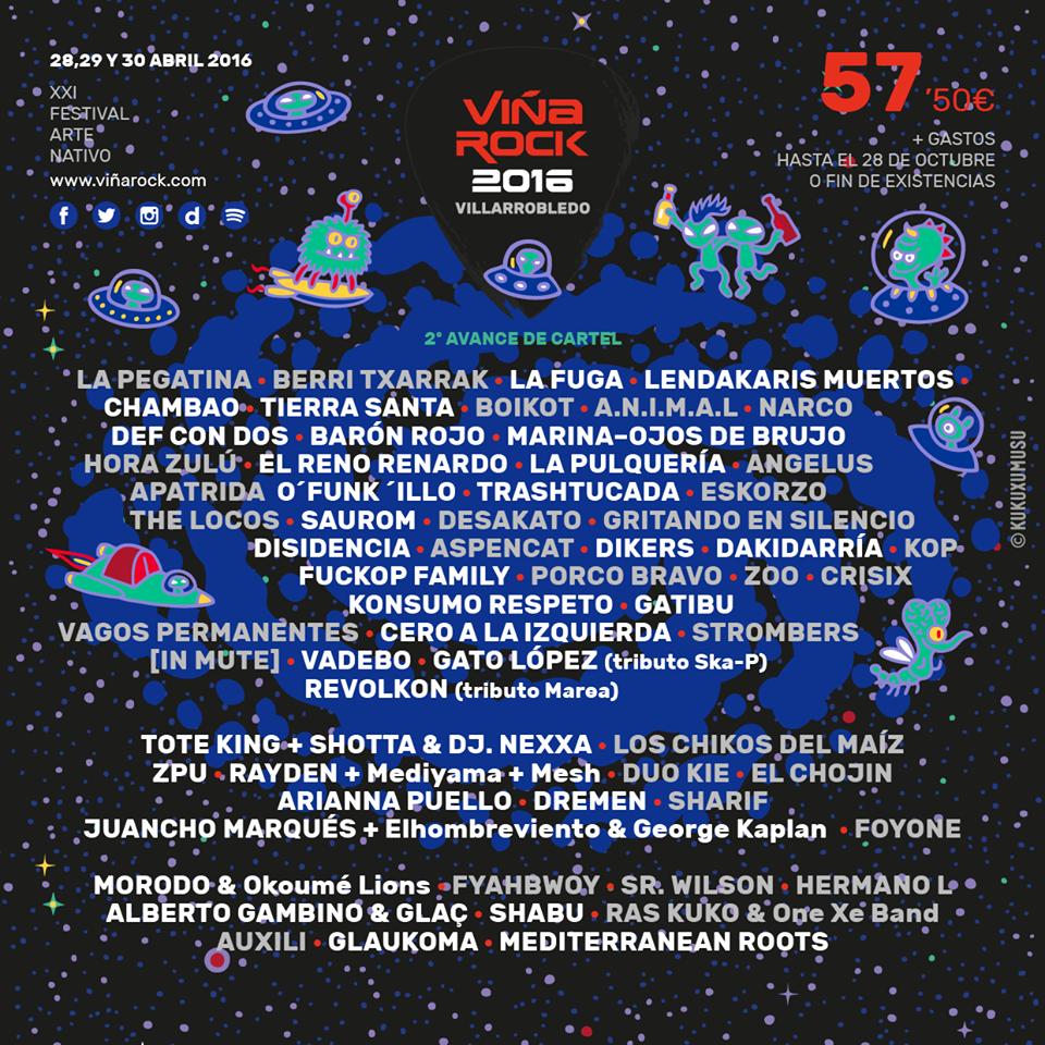 viña rock 2016