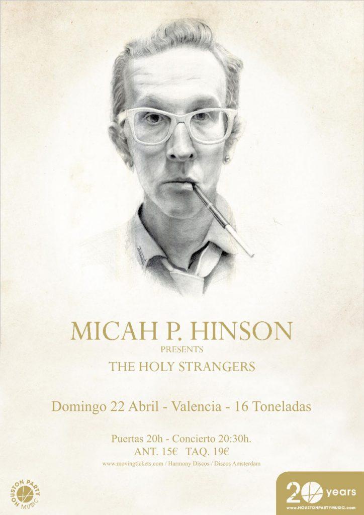 Cartel Micha P. Hinson 16 Toneladas - GRAMOLA